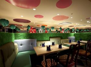 Удивительный ресторан «Алиса в стране чудес»
